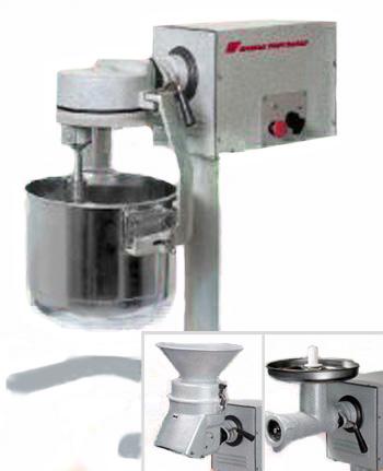 УКМ-07 Универсальная кухонная машина (мясорубка, взбивалка,просеиватель)